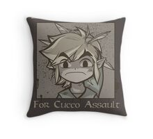 Wanted - Cucco Assault Throw Pillow