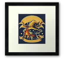 Strong Independent Black Mage Framed Print