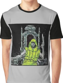 Neon Joe Werewolf Hunter Comic Graphic T-Shirt