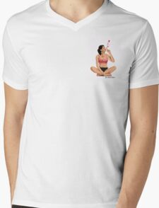 Beloved by Amos Mens V-Neck T-Shirt