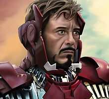 Iron Man by Richard Eijkenbroek