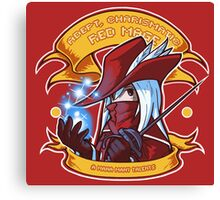 Adept, Charismatic Red Mage Canvas Print