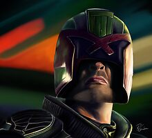 Judge Dredd by Richard Eijkenbroek