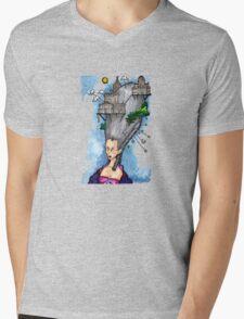 Hair City Mens V-Neck T-Shirt
