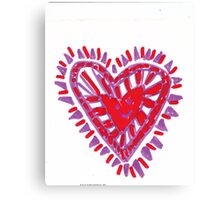 My Perfect Heart Canvas Print