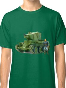 BT-42, Finnish Battle Tank Classic T-Shirt