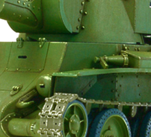 BT-42, Finnish Battle Tank Sticker