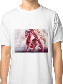 In His Domain - Fire Opal Dragon Classic T-Shirt