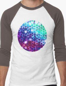 honeycomb effect Men's Baseball ¾ T-Shirt