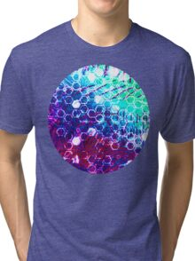 honeycomb effect Tri-blend T-Shirt