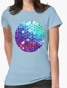 honeycomb effect Womens Fitted T-Shirt