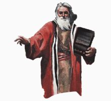 Moses with the Holy IPad by BSRs