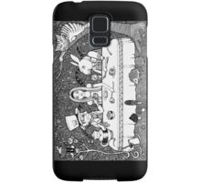 Mad Hatters Tea Party Samsung Galaxy Case/Skin