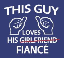 This guy loves his fiance by bridal