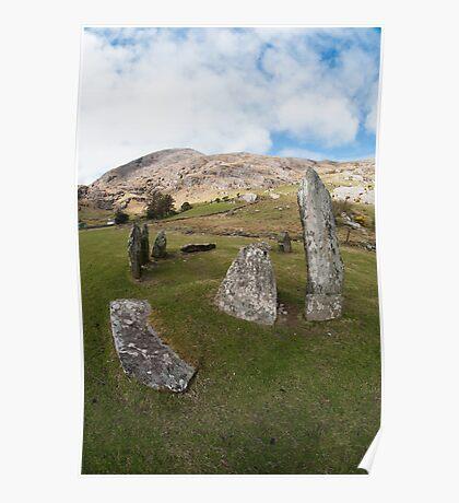 Shronebirren Stone Circle Poster