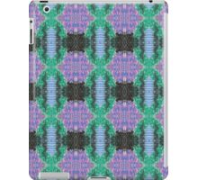 cool waves and stripes iPad Case/Skin