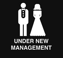Bride and Groom. Under new management Unisex T-Shirt