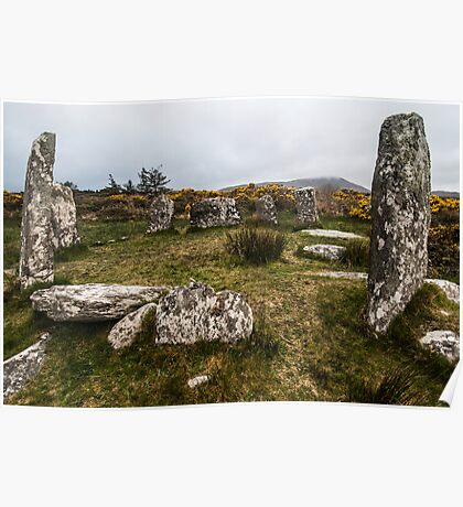 Darrintaggart West Stone Circle Poster