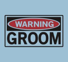 Warning Groom by bridal