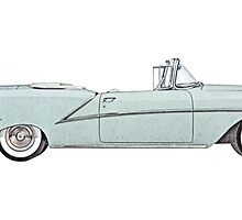 1954 Oldsmobile Starfire ninety-eight by surgedesigns