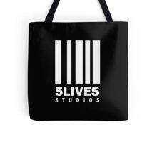 5 Lives Studios White Tote Bag