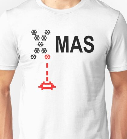 Xmas Invaders Unisex T-Shirt