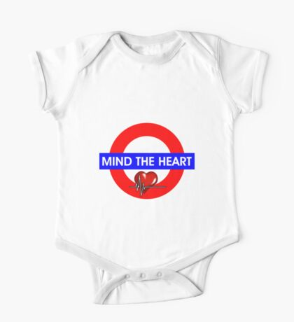 Mind The Heart One Piece - Short Sleeve