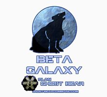 Clan Ghost Bear Beta Galaxy Unisex T-Shirt