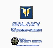 Clan Ghost Bear Rank: Galaxy Commander Unisex T-Shirt