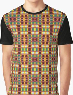gold and rust blocks Graphic T-Shirt