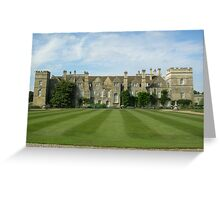 Grimsthorpe Castle - Lincolnshire Greeting Card