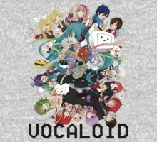 Vocaloids by PinkiexDash
