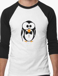 Sir Penguin Men's Baseball ¾ T-Shirt