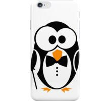 Sir Penguin iPhone Case/Skin