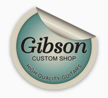 Gibson Costum Shop (FS)  decoration Clothing & Stickers by goodmusic
