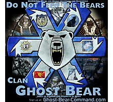 Clan Ghost Bear Recruitment Poster Photographic Print