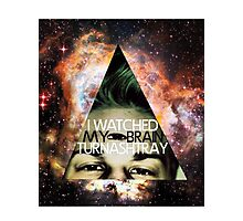I Watched My Brain Turn Ashtray Photographic Print