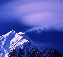 Cloud Formations over Mount Cook by Alex Cassels