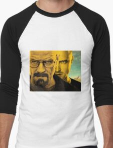 Breaking Bad - Walter & Jesse - With RV Men's Baseball ¾ T-Shirt