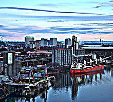 Willamette Industry Portland, Oregon by Sam John