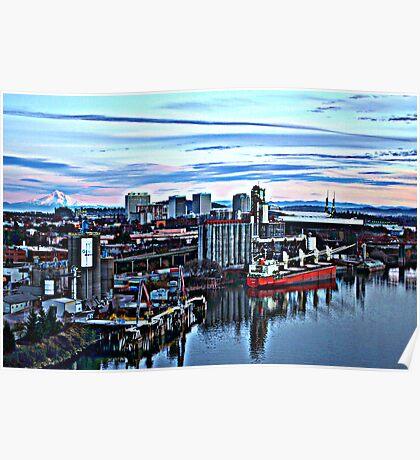 Willamette Industry Portland, Oregon Poster