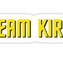 Team Kirk Sticker