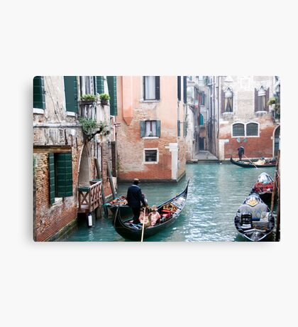 gondola time Canvas Print