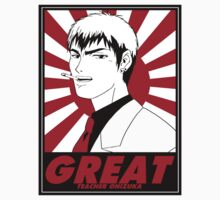 Great Teacher Onizuka by M&J Fashion Graphic