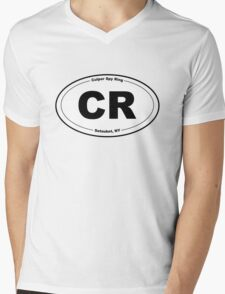 Culper Ring Bumper Sticker Mens V-Neck T-Shirt