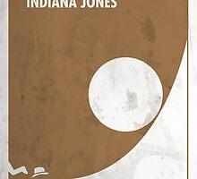Indiana Jones Minimal Film Poster by quimmirabet