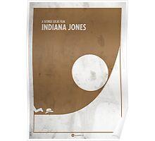 Indiana Jones Minimal Film Poster Poster