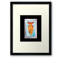 Emergency Communication | Break Glass | Don't Panic | Insert in Ear | Babel Inc Framed Print
