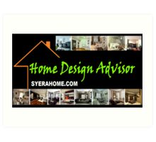 syerahome.com home design advisor Art Print