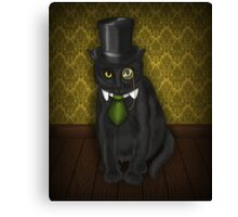 Bow-Legged Gentleman Canvas Print